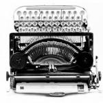 Máquina de escrever - Cade Digital