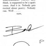 Rabiscos de Charles Bukowski
