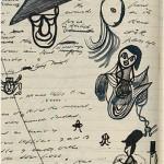 Rabiscos de Samuel Beckett