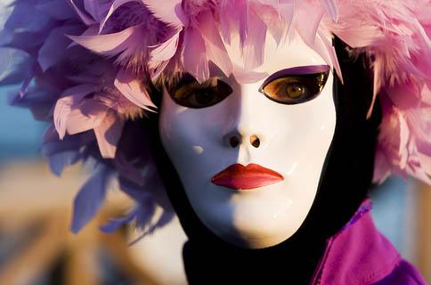 Máscara do carnaval de Veneza - Foto de Nwardez