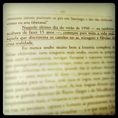 """Trecho do livro """"Travessuras da menina má"""", de Mario Vargas Llosa"""