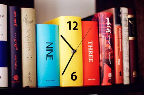 Book Clock, por Shokoofeh Z.Dezfuli