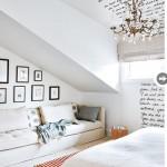 """""""Parede literária"""" - projeto da designer de interiores Kelly Deck"""