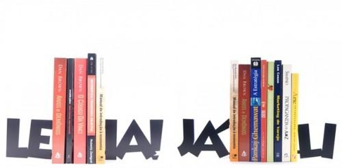 Aparador de livros LEIA! - Site casalouca.com.br