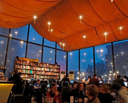 Bookworm é uma livraria de língua inglesa em Beijing, China