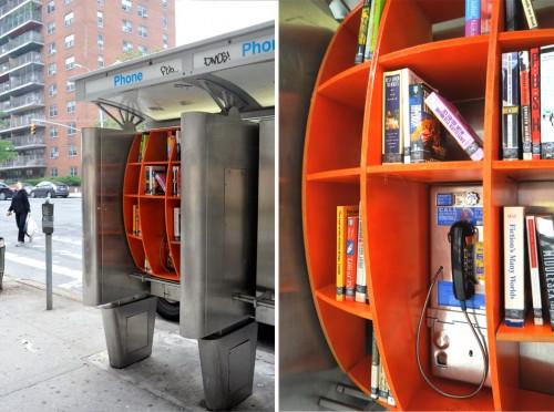 Livraria na cabine telefônica - John Locke