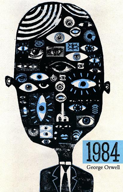 Capa do livro 1984, de George Orwell