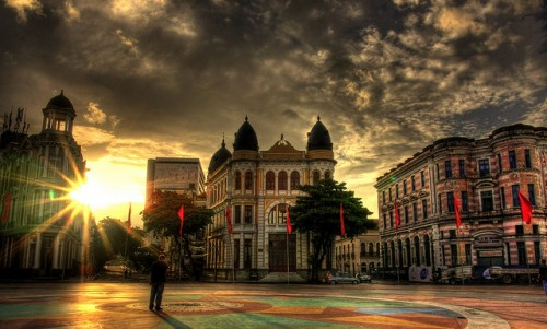 Marco zero, Recife - Foto: Ricardo Scholz