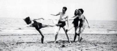 Camus na praia