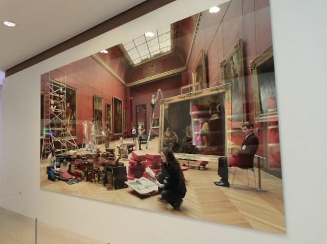 Exposição Livre/Louvre em Paris