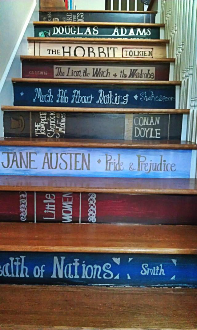 Escada literária
