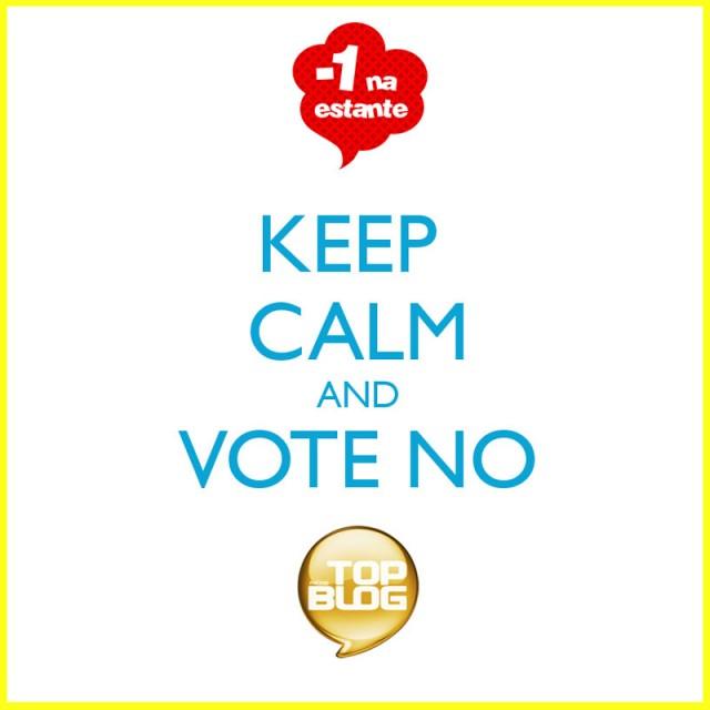 #menos1naestante no Top Blog 2012