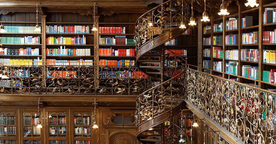 Bibliotecas do Mundo - Munique - Foto National Geographic