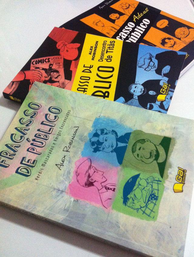 Fracasso de Público - os três livros