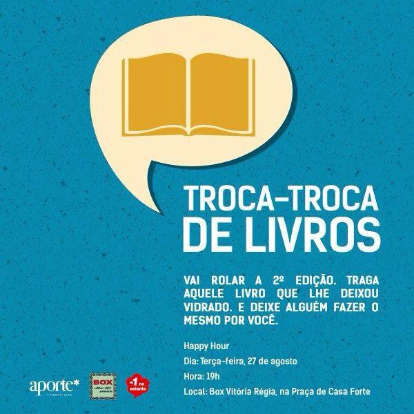 #trocadelivrosrecife II