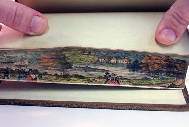 Pintura de borda, 1837