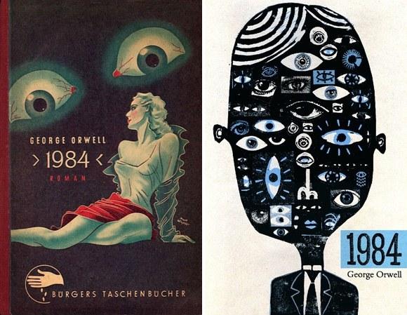 Capas de 1984, George Orwell