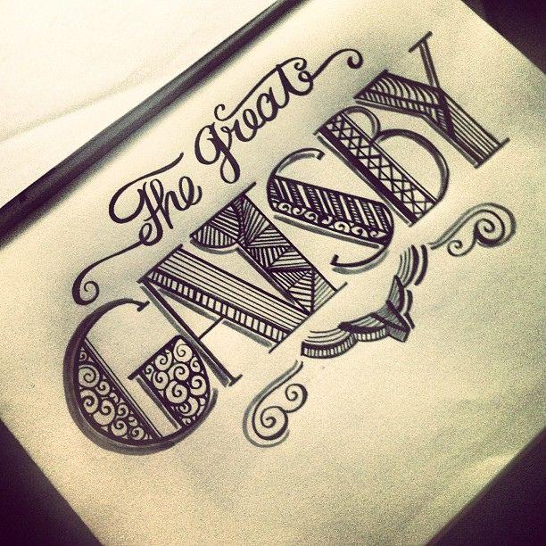 Tipografia - Gatsby