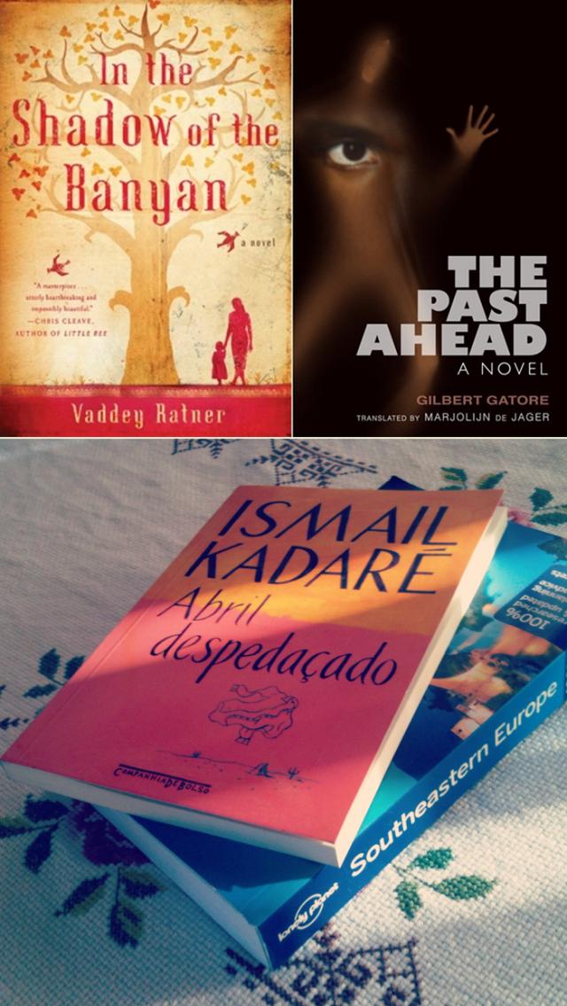 Livros do Camboja, Ruanda e Albânia