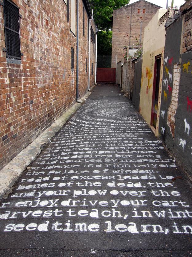 O Casamento do Céu e do Inferno, de William Blake. Encontrada em Sydney, Australia.