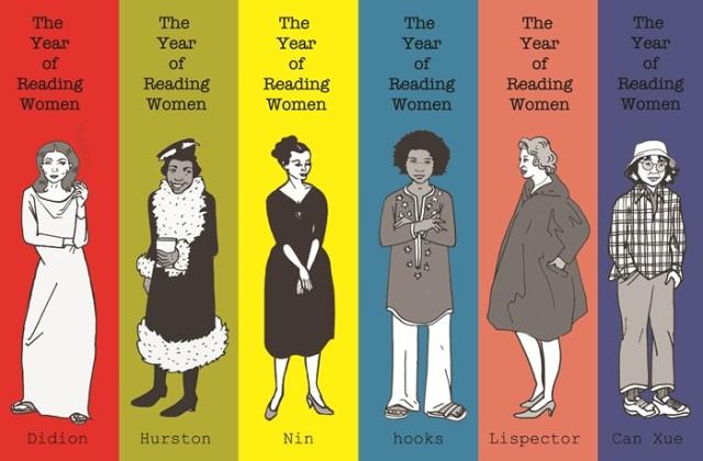 Reading Woman - marcadores