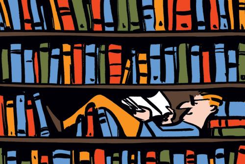 Entre livros - Nishant Choksi