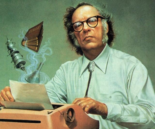 Ilustração de Isaac Asimov