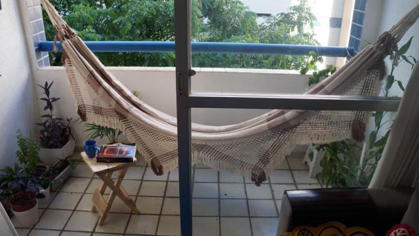 Cantinho de leitura - minha varanda