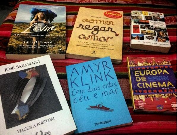 Livros de viagens e destinos, por Priscilla Aguiar