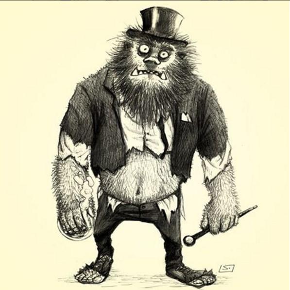 Mr. Hyde - O médico e o Monstro - por Laerte Silvino