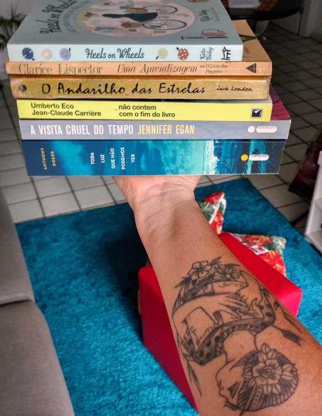 Tag literária: Seis títulos de livros que me definem