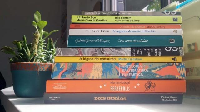 Livros que estou programada pra ler nos primeiro semestre de 2017