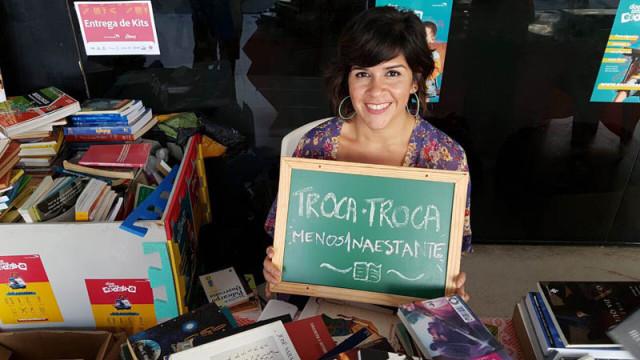 Troca Menos1naestante - 7 edição - blogueira