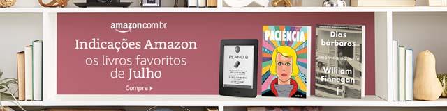 Amazon - Os livros favoritos de Julho 2017