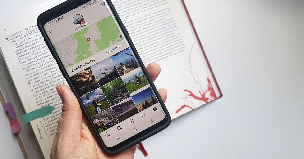 Leitura com busca por locais