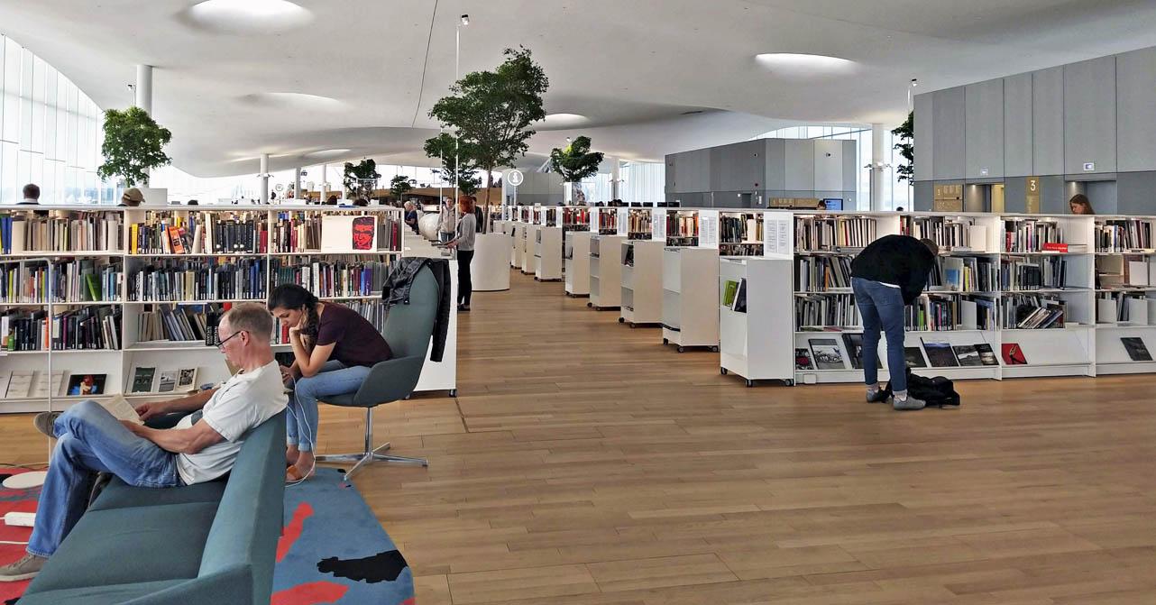 Bibliotecas do Mundo - Helsinque - Por Suzana Valença
