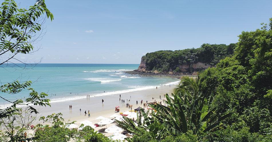 Leitura e praia - Praia do Madero-RN