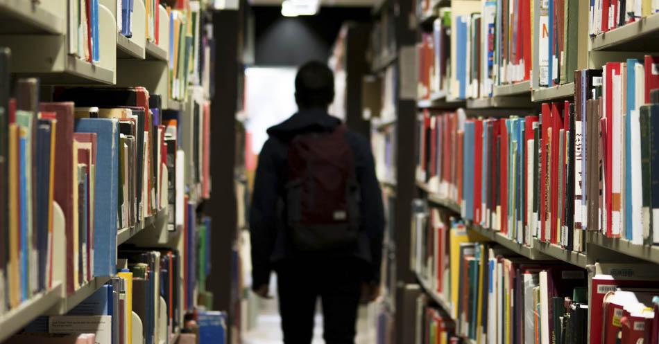 As bibliotecas vão acabar? Foto Bantersnaps