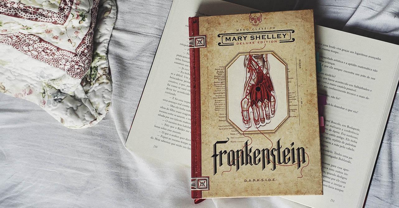 Livro Frankenstein - Mary Shelley - Destaque