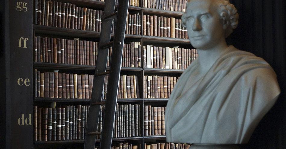 10 bibliotecas incríveis 09 - Irlanda - Trinity College Library - Randi Hausken