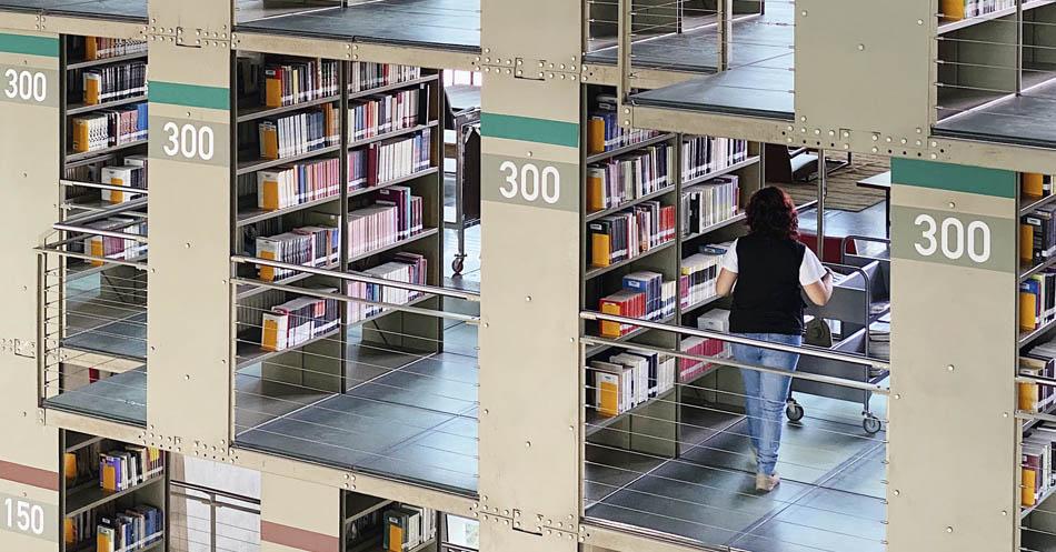 10 bibliotecas incríveis 29 - México - Biblioteca Vasconcelos