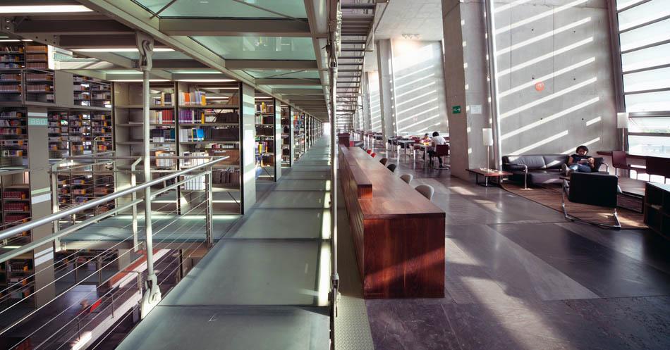 10 bibliotecas incríveis 30 - México - Biblioteca Vasconcelos - Foto Kalach