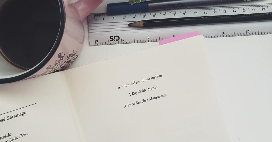 Resenha O Homem Duplicado - dedicatoria